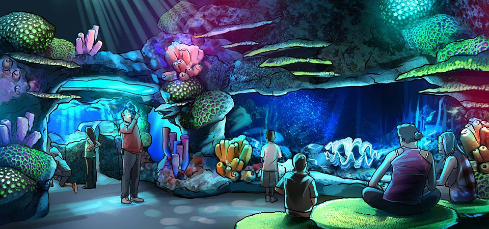 Rendering of Sea Life Aquarium Orlando