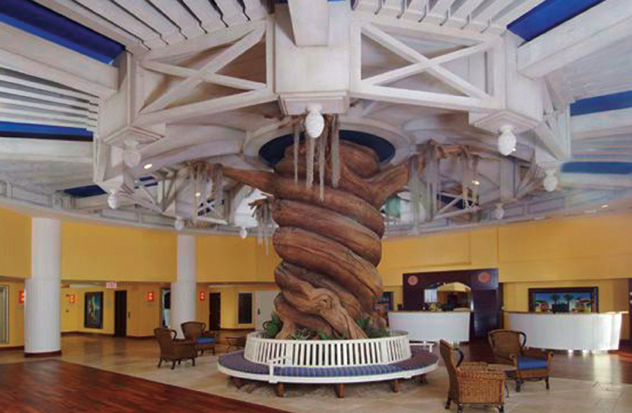Attraction & Entertainment Solutions | Sculpture + Props | Lobby Tree