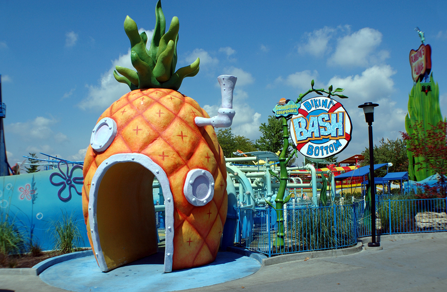 Attraction & Entertainment Solutions | Sculpture + Props | Sponge Bob House