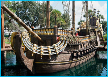 Spanish Galleon at Pirate's Cove (Orlando, Florida)