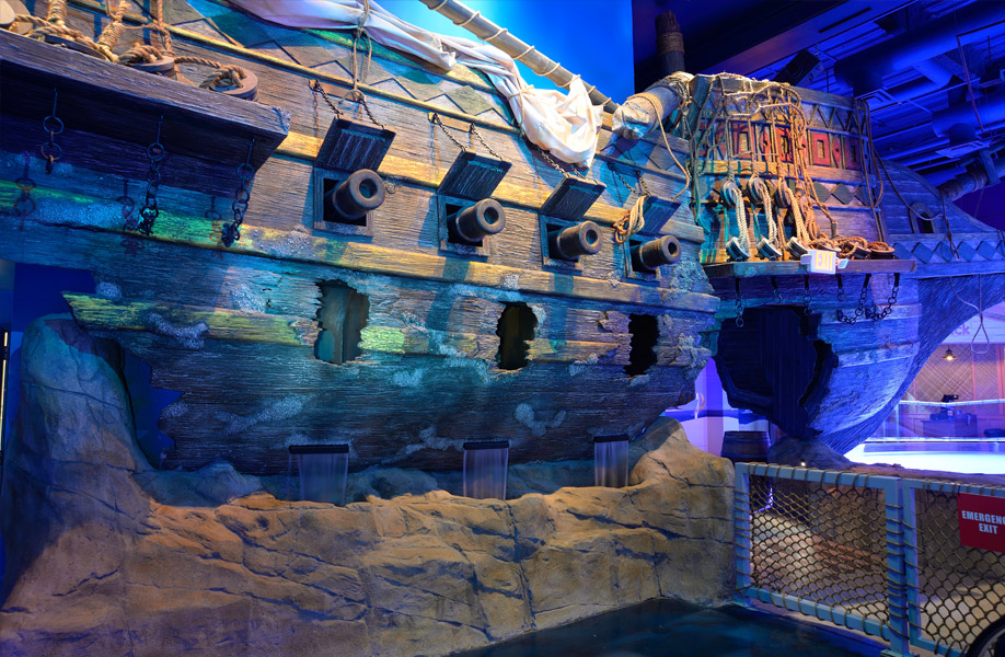 Attraction And Entertainment Solutions Current Projects Sea Life Minnesota Aquarium In The