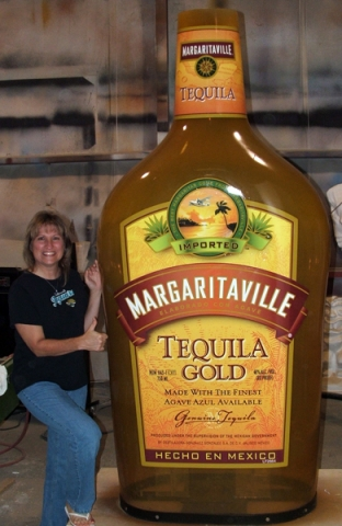 Attraction & Entertainment Solutions | Sculpture + Props | Margaritaville Bottle