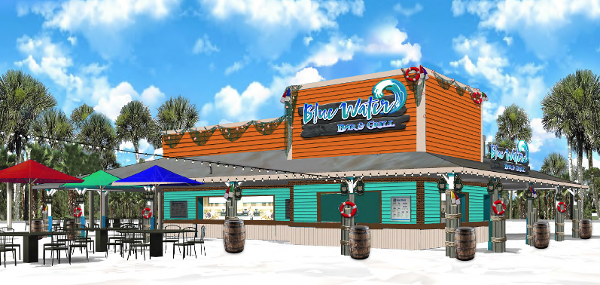 Blue water bar and grill a es - Blue water bar and grill ...