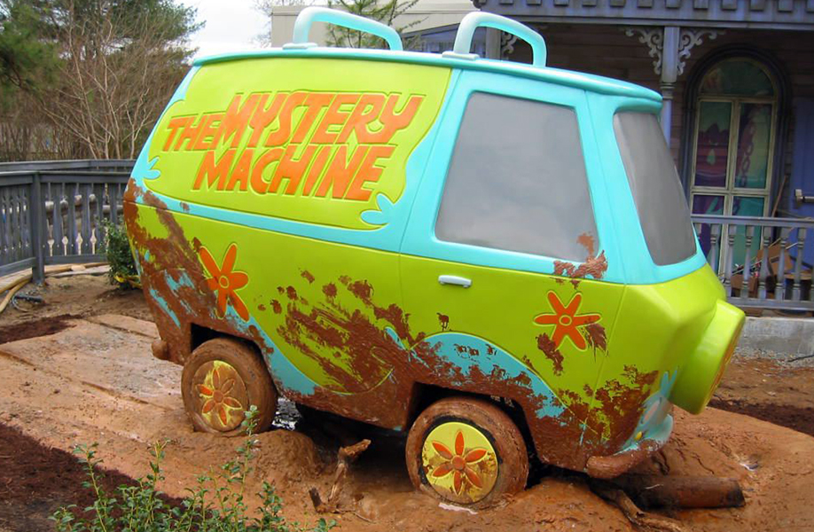 Attraction & Entertainment Solutions | Sculpture + Props | Mystery Van