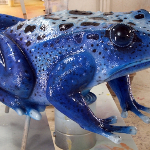 Attraction & Entertainment Solutions | Sculpture + Props | Frogs 2