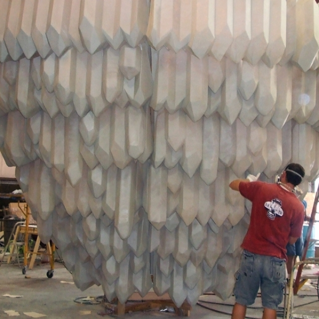 Attraction & Entertainment Solutions | Sculpture + Props | Ice Crystal