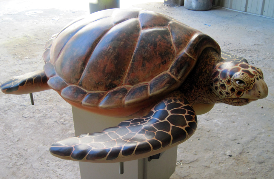 Attraction & Entertainment Solutions | Sculpture + Props | Sea Turtle