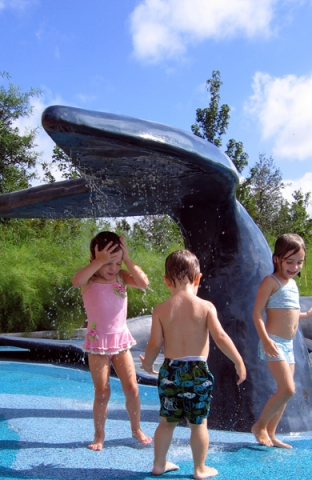 Attraction & Entertainment Solutions | Sculpture + Props | Splash Area Whale