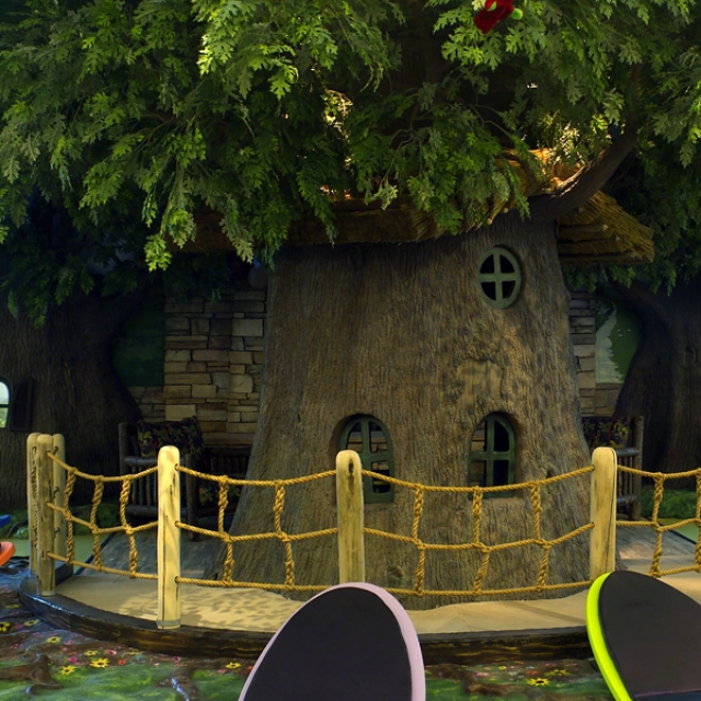 Attraction & Entertainment Solutions | Sculpture + Props | Tree Reading Room